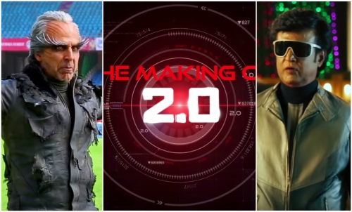 Watch Video: A glimpse of the making of Rajinikanth and Akshay Kumar starrer 2.0 will blow your mind away