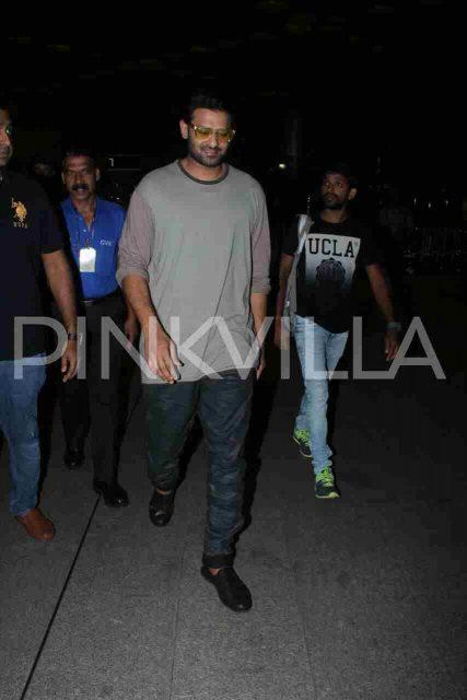 Airport Diaries: Prabhas spotted at Mumbai airport