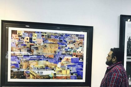 Photographs clicked by actor Ajith Kumar put on display at an art gallery in Chennai