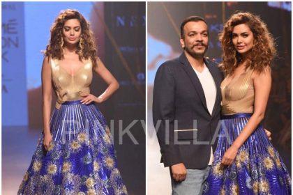 ईशा गुप्ता लक्में फैशन वीक में आई नज़र