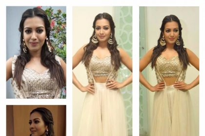Yay or Nay - Catherine Tresa in a Riddhima Kollare creation!