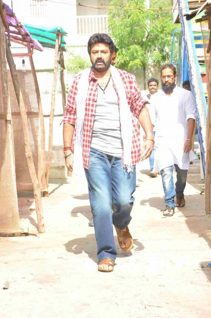 Nandamuri Balakrishna starts shooting for his next film directed by KS Ravi Kumar