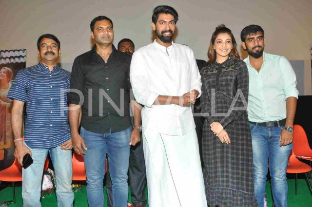 Photos: Rana Daggubati and Kajal Aggarwal promote their upcoming film Nene Raju Nene Mantri