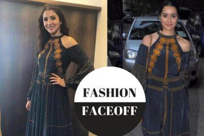 अनुष्का शर्मा या श्रद्धा कपूर? किसने पहनी है रितु कुमार की ड्रेस बेहतर