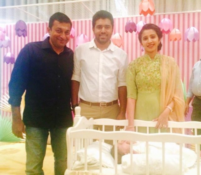 Picture: Nivin Pauly and wife Rinna Joy name their daughter Treesa Nivin Pauly