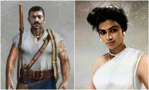 Intriguing looks of Nivin Pauly and Amala Paul in Kayamkulam Kochunni