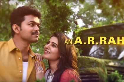 MERSAL second single titled Neethanae is a perfect romantic number between Vijay and Samantha Ruth Prabhu