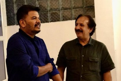 This photo of S Shankar and Iranian director Majid Majidi is pure gold
