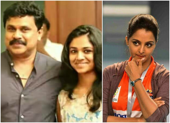 Manju Warrier met daughter Meenakshi at Dileep's house but was not welcomed?