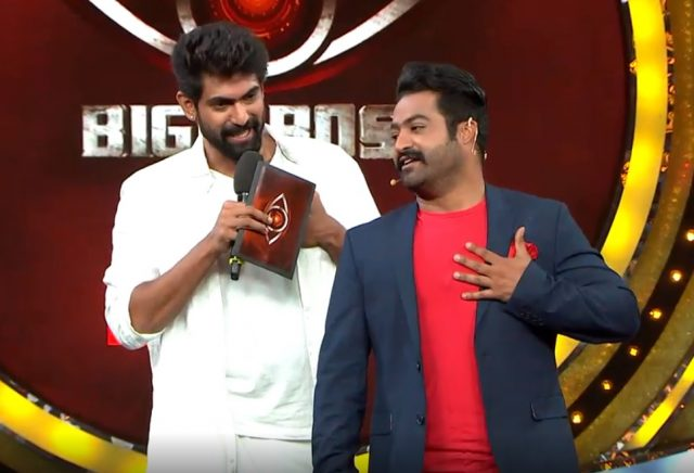 Jogendra aka Rana Daggubati steals the show at Jr NTR's Bigg Boss Telugu