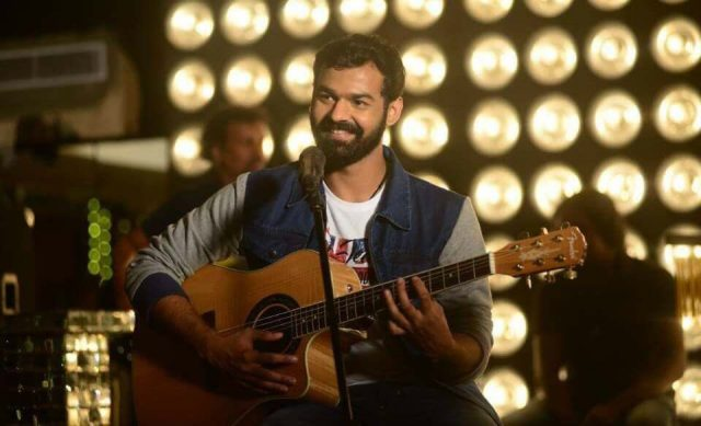 Photo: Pranav Mohanlal gets a makeover for his debut film Aadhi directed by Jeetu Joseph