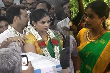 Watch Video: Actress Priyamani and boyfriend Mustafa Raj get married in a low-key affair in Bengaluru