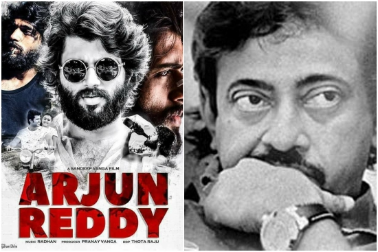 Vijay Deverakonda is 10 times better than PAWAN KALYAN, says Ram Gopal Varma talking about Arjun Reddy