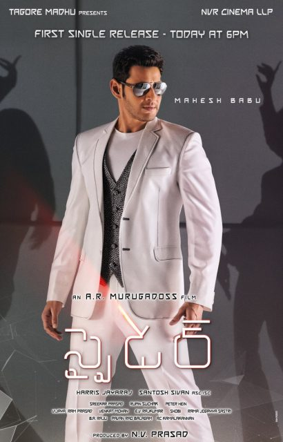 First single from Mahesh Babu starrer SPYder will be out today