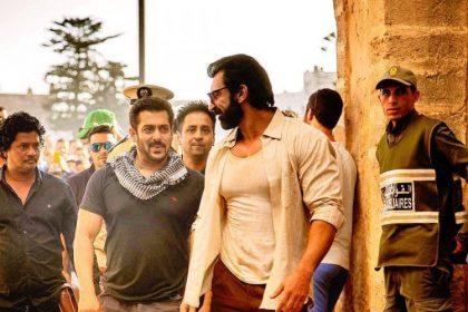 सलमान खान की फोटो आई सामने, शूट कर रहे हैं टाइगर जिंदा है