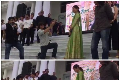 शाहरुख़ खान और अनुष्का शर्मा ने बनारस में किया जब हैरी मेट सेजल का प्रमोशन
