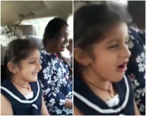 Watch: Mahesh Babu's daughter Sitara singing BOOM BOOM from SPYder will make your day