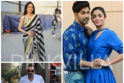 वरुण धवन और आलिया भट्ट की इस फिल्म में 25 साल बाद बड़े परदे पर एकसाथ दिखेंगे श्रीदेवी और संजय दत्त?