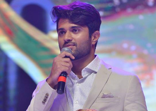 Arjun Reddy aka Vijay Deverakonda has a strong message for the political leader who opposed the release of the film