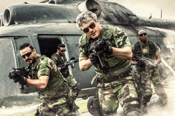 Music album of Ajith Kumar and Kajal Aggarwal starrer Vivegam is out now
