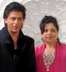 शाहरुख़ खान बहन शेहनाज़ के साथ