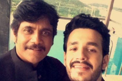 Photo: Akhil Akkineni and father Nagarjuna Akkineni look a million bucks in this selfie