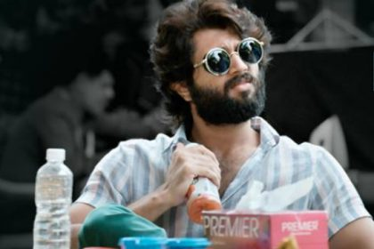 Arjun Reddy: Tale of a male protagonist's sojourn infused with drugs, alcohol and women