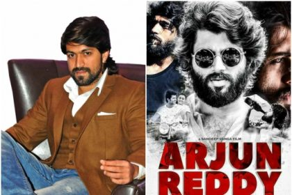 Kannada remake of Vijay Deverakonda's Arjun Reddy to feature Yash in the lead role?