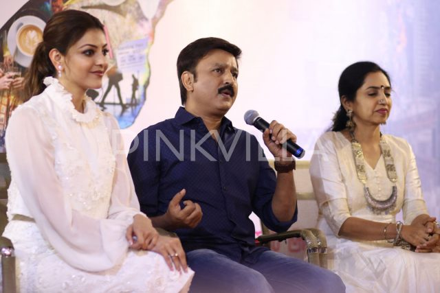 Photos: Tamil remake of Queen titled 'Paris Paris' starring Kajal Aggarwal gets launched