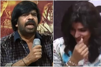 T Rajender takes on Dhansika at Vizhithiru press meet; Leaves the actress teary eyed