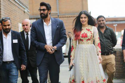 Photos: Rana Daggubati and Adah Sharma spotted at Samkarya UK 2017