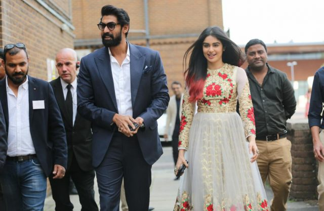 Photos: Rana Daggubati and Adah Sharma spotted at Samkarya UK 2017