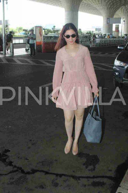 Airport Diaries: Tamannaah Bhatia spotted in Mumbai