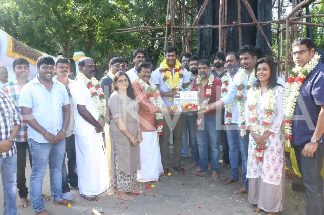 Photos: Vishal begins shooting for Sandakozhi 2 also starring Keerthy Suresh and Meera Jasmine