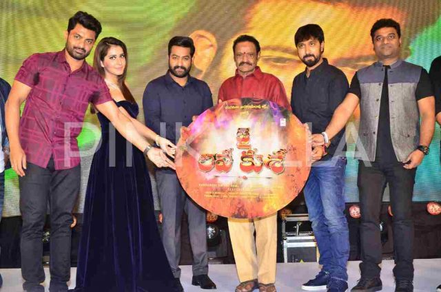 Photos: Audio album of Jai Lava Kusa starring Jr NTR, Raashi Khanna and Nivetha Thomas is out now