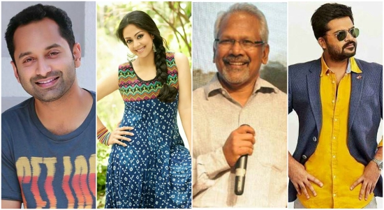 Mani Ratnam's film with Jyothika, Simbhu, Fahadh Faasil and Arvind Swami to commence from January 2018
