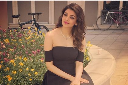 Kajal Aggarwal looks stunning in this photo from the shooting location of Vijay starrer Mersal