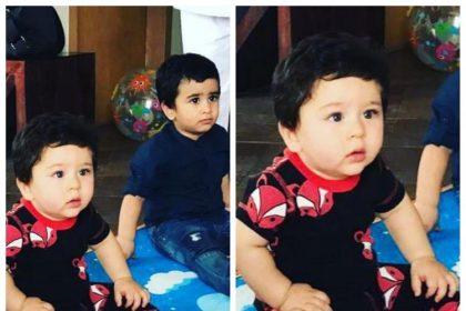 तुषार कपूर ने अपने बेटे लक्ष्य और तैमुर अली खान की एक तस्वीर सोशल मीडिया पर स्शेयर की