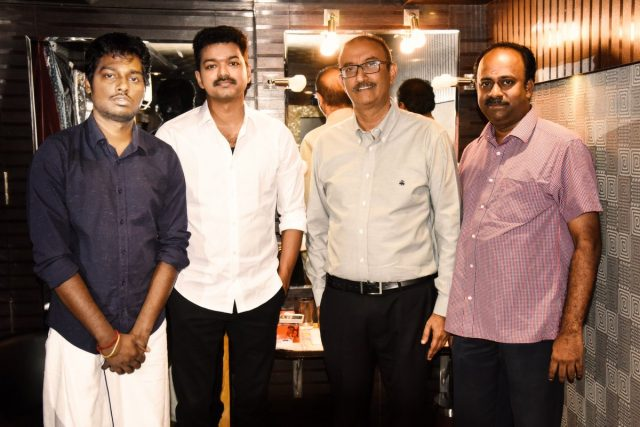 Dubbing works of Telugu version of MERSAL, Adirindhi, begin; Sharrath Marar to release in Telugu