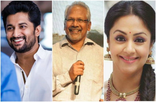 Nani teaming up with Mani Ratnam for the film which will star Jyothika?
