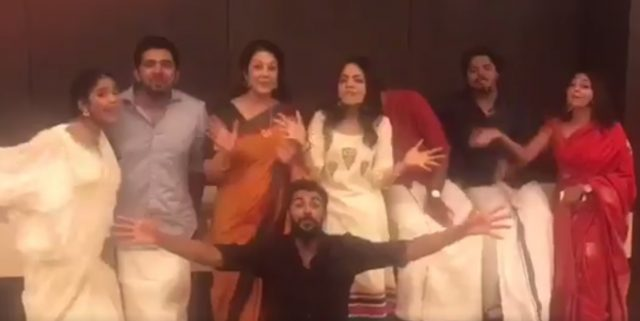 Watch: This video of Nivin Pauly wishing everyone on Onam is adorable