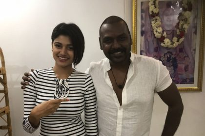 Raghava Lawrence signs on Bigg Boss star Oviya Helen for Kanchana 3