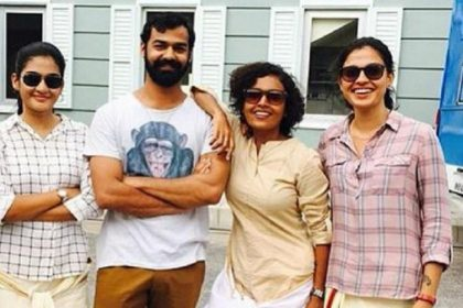 Pranav Mohanlal dances for father's viral song 'Jimiki Kammal'