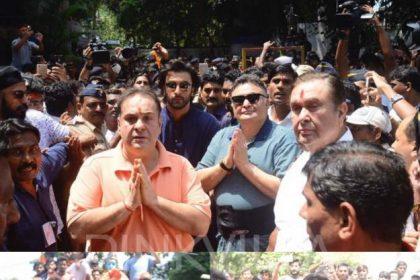 कपूर खानदान ने की गणपति बप्पा की विदाई यहाँ देखिये फोटोज