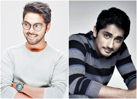 Siddharth and GV Prakash join hands for a film for the first time