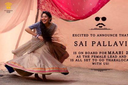 Sai Pallavi signed on for Maari 2 starring Dhanush