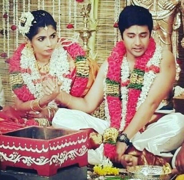 A Picture From The Wedding Of Chinmayi And Rahul Ravindran Happy Birthday Sripada An Entrepreneur Great Singer Voice Many