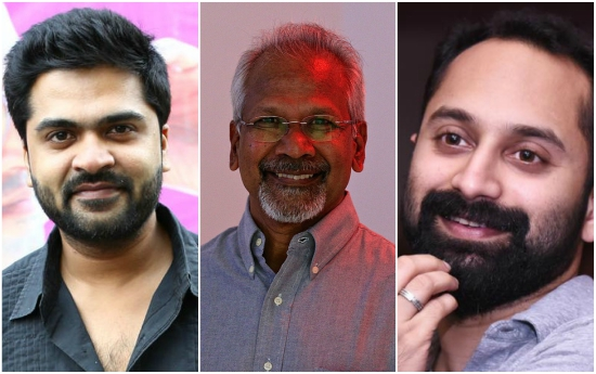 After Jyothika and Aishwarya Rajesh, Simbhu and Fahadh Faasil signed on for ace filmmaker Mani Ratnam's next
