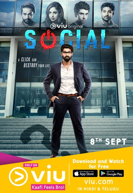Exclusive: First look Poster of Rana Daggubati's first web series SOCIAL is out now