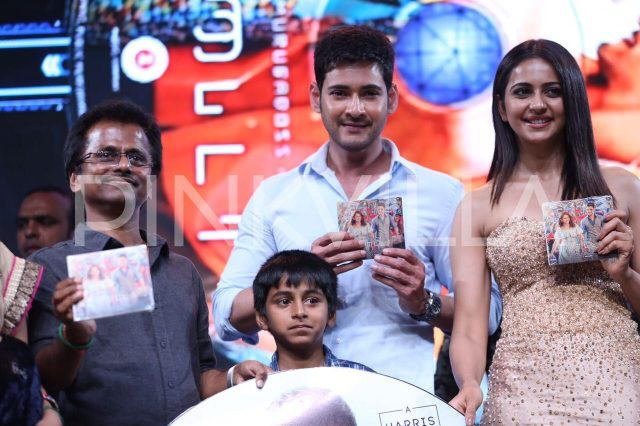 SPYder Audio Launch: Super Mahesh gets an overwhelming response from his Tamil fans